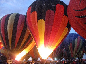 pic of balloon glow