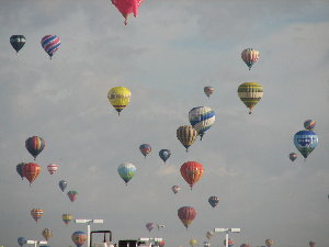 pic of many balloons