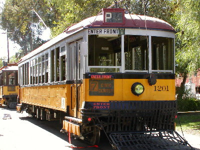 picture of old street car