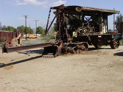 picture of old steam shovel