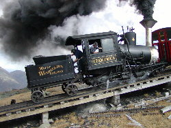 pic of a cog train
