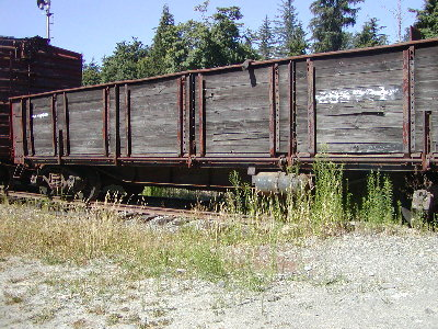 picture of old railroad car